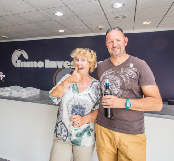 More happy property buyers in Campoamor, Spain