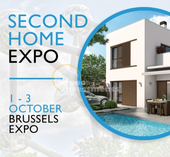 Second Home Expo 2016, October 1-3 Brussels Belgium