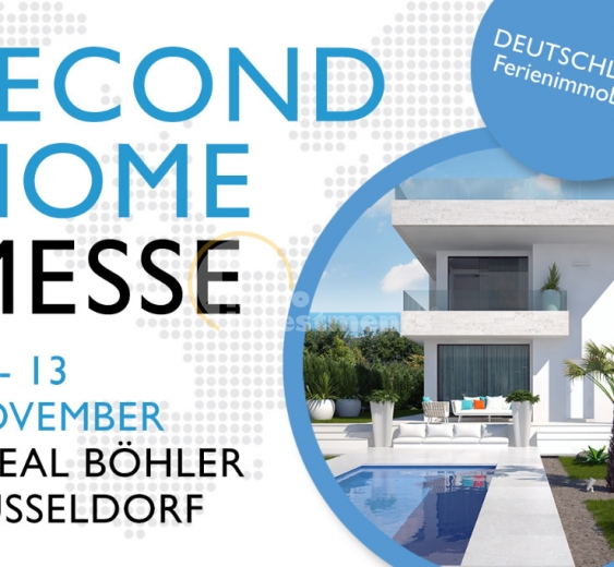 Einladung zur Second Home Immobilien Messe 2016, 12-13 November in Düsseldorf