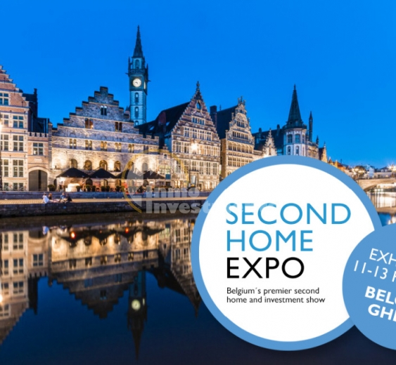 Einladung zur Second Home Expo 2017 in Gent Belgien