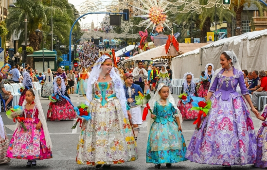 The 2017 Las Hogueras de San Juan festival in Alicante