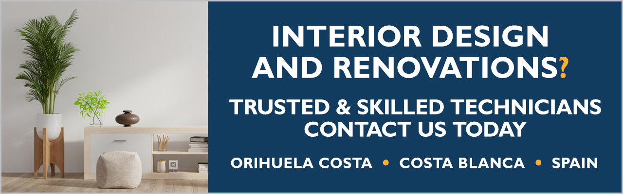 Trusted tradespeople for property renovations and building services on the Orihuela Costa