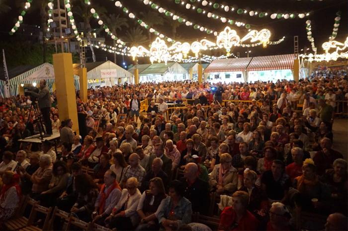 Torrevieja Volksfest Feria de Sevillanas 2018, Costa Blanca, Spanien
