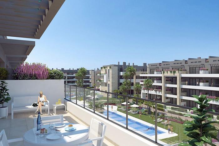 New build luxury apartments in Playa Flamenca, Costa Blanca
