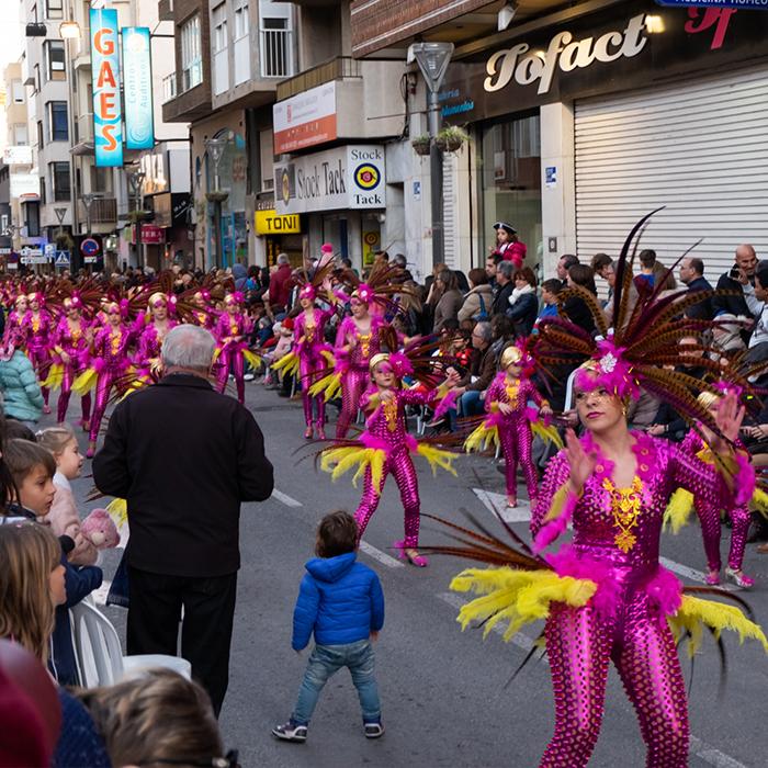 Torrevieja Carnival 2019, Costa Blanca, Spain