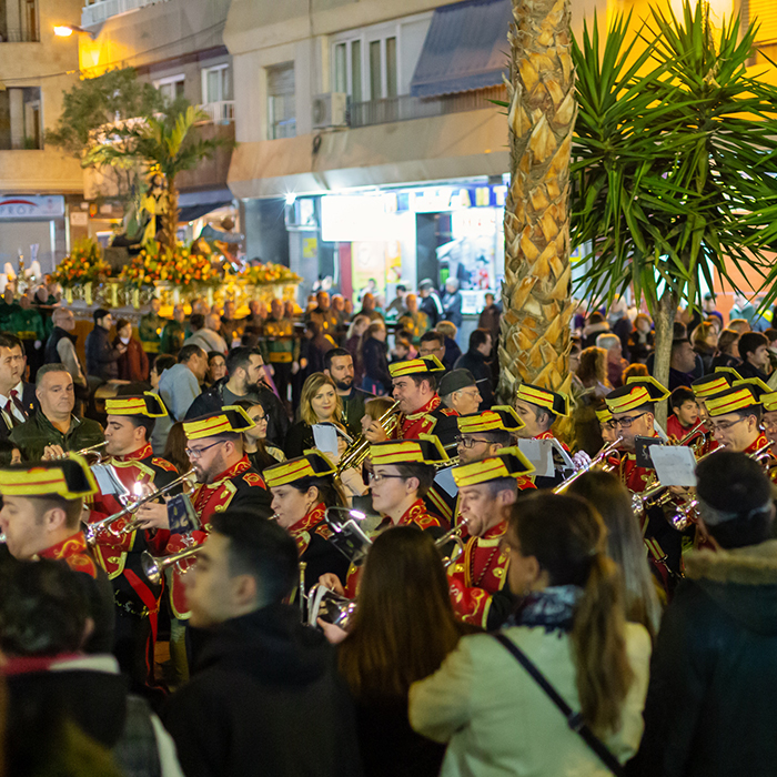 Easter parades in Spain: processing through the streets of Torrevieja