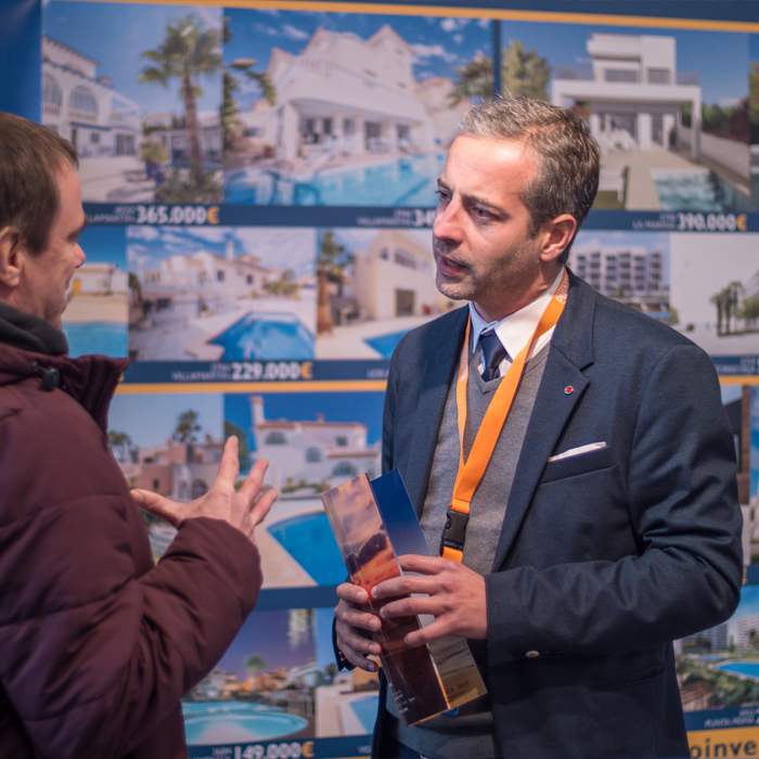 Second Home Expo Gent Belgien 2019: Inmo Investments, Stand 523