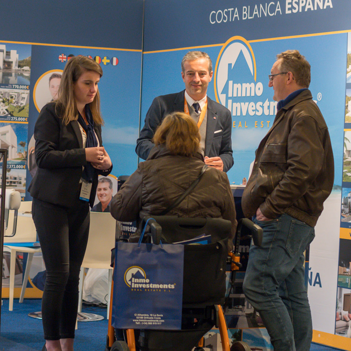 Second Home Expo Gent Belgien 2019: die Messehalle von Flanders Expo