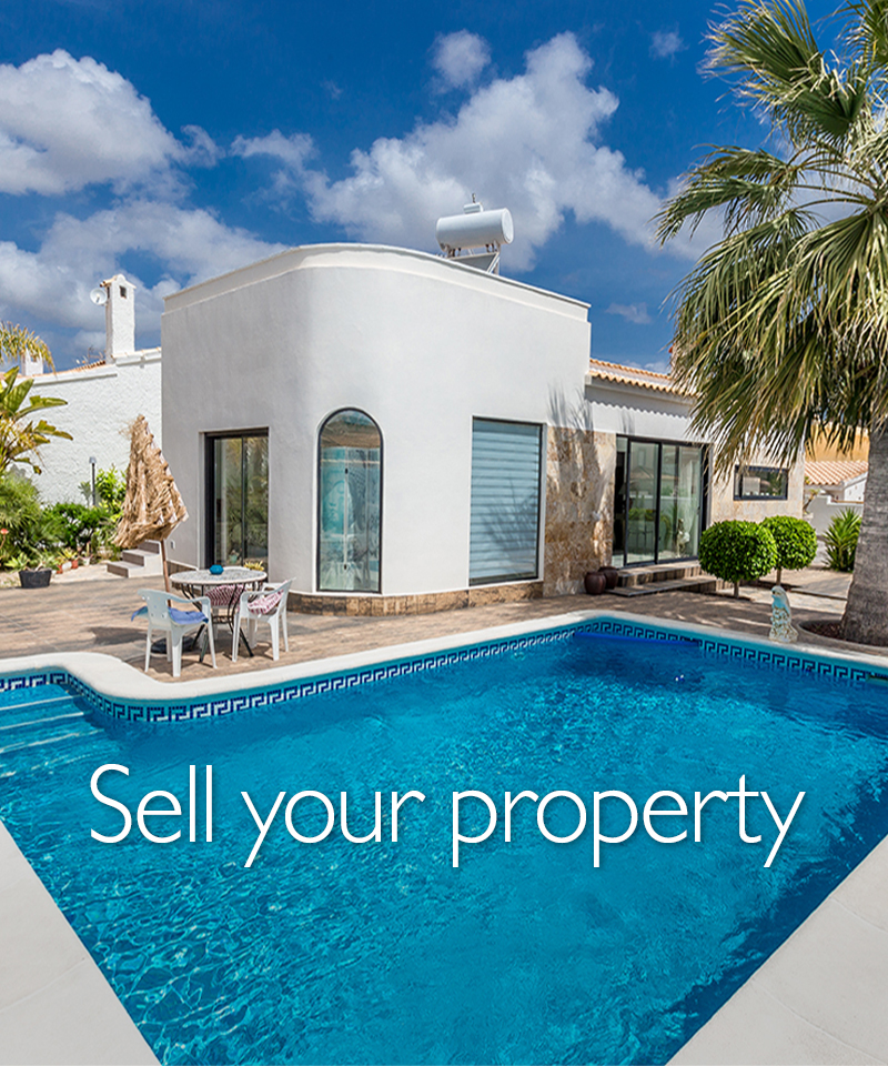 Sell your property in Spain