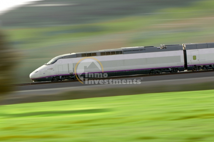Spain, the largest high speed rail service in Europe