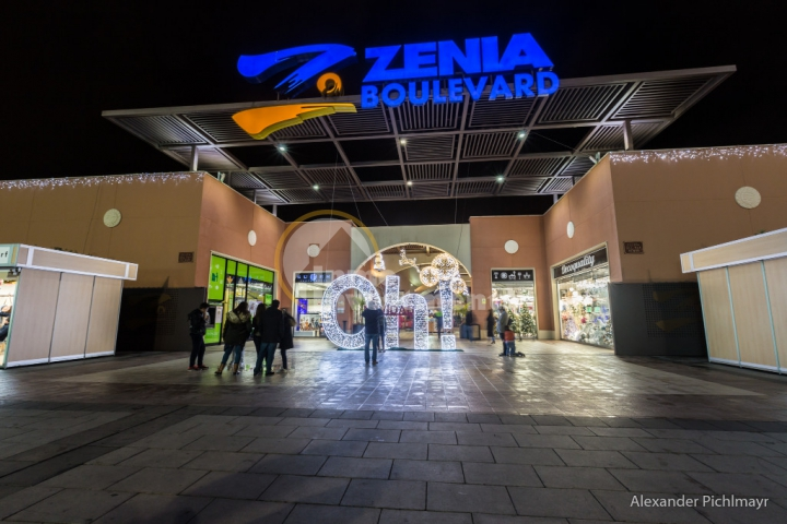 News, Christmas at La Zenia Boulevard shopping centre, Spain