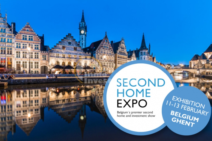 Second Home Expo 2017, Ghent in Belgium