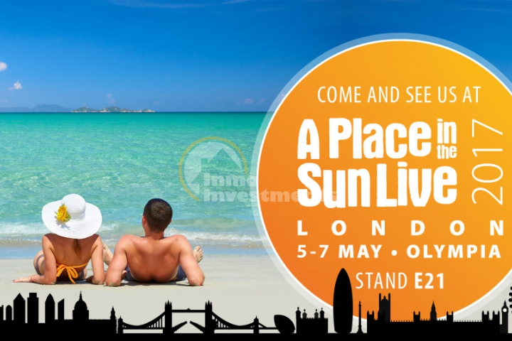 A Place in the Sun Live, 5-7 May 2017, London Olympia