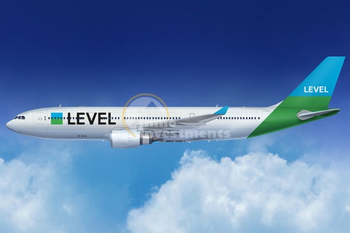 Image courtesy of LEVEL (International Airlines Group)