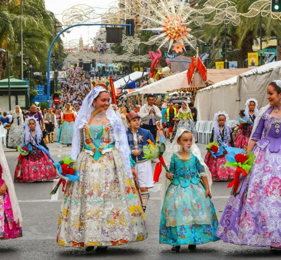 The 2019 Las Hogueras de San Juan festival in Alicante