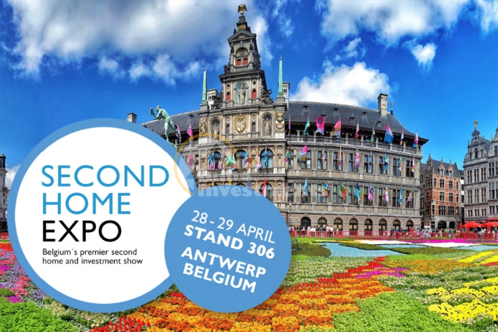 Second Home Expo Immobilienmesse, Antwerpen Belgien, 28.-29. April 2018