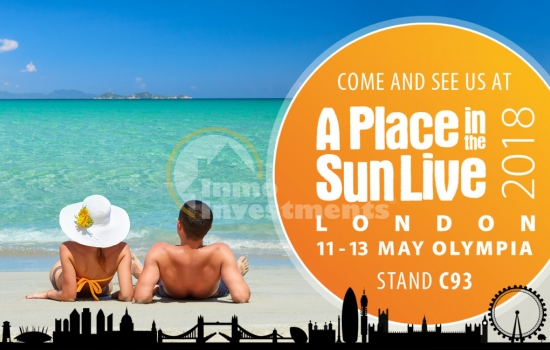 A Place in the Sun Live 2018, London Olympia, 11-13 May 2018
