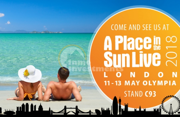 A Place in the Sun Live 2018, Londre Olympia, 11-13 Mai 2018