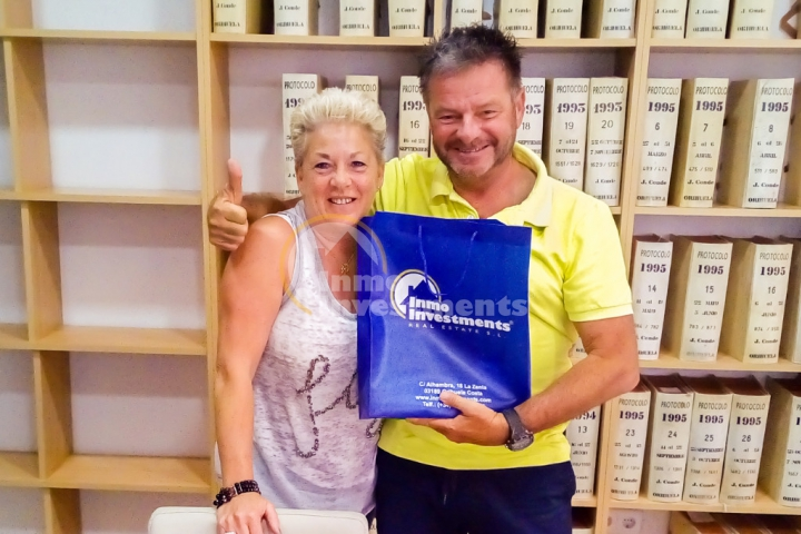 Our latest Spanish property buyer chooses Orihuela´s Villamartin