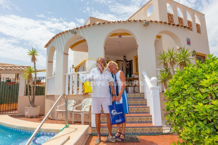 Our latest overseas property buyers find their dream home in Spain