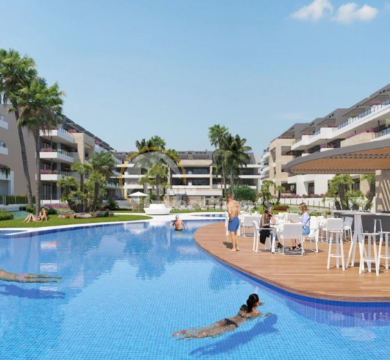 Promotion of new build luxury apartments launches in Playa Flamenca