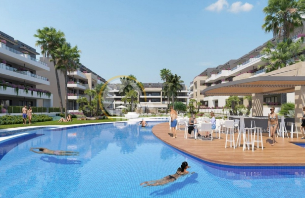 New luxury apartments for sale in Playa Flamenca, Costa Blanca, Spain