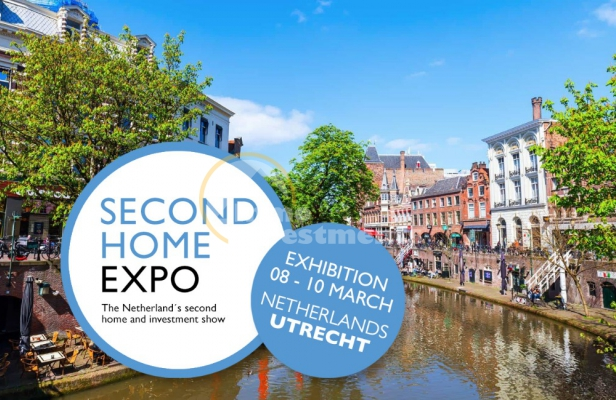 Second Home Expo 2019 property exhibition, Utrecht, The Netherlands