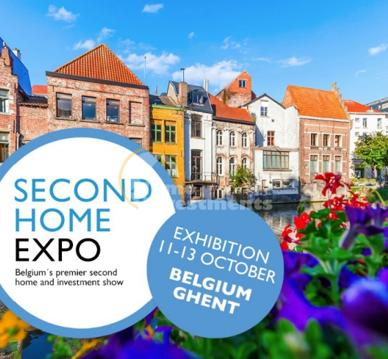 Second Home Expo 2019 in Gent Belgien, Immobilien Messe