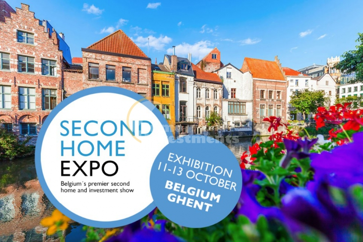 Second Home Expo 2019 property exhibition, Ghent, Belgium