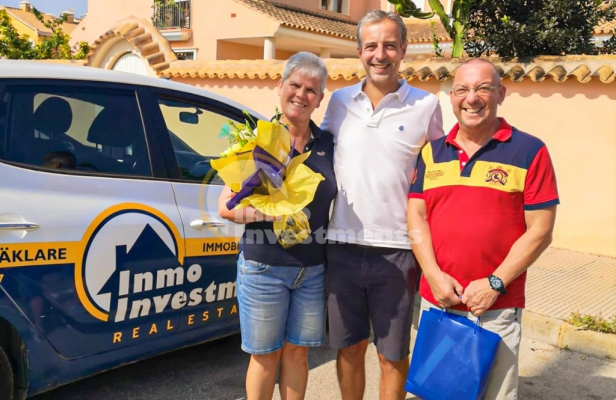Our latest property buyers find their dream home in Playa Flamenca