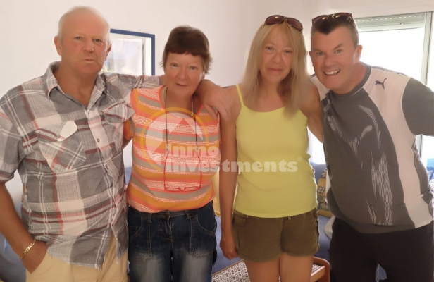 Edwardina and Keith find the perfect apartment in popular La Zenia